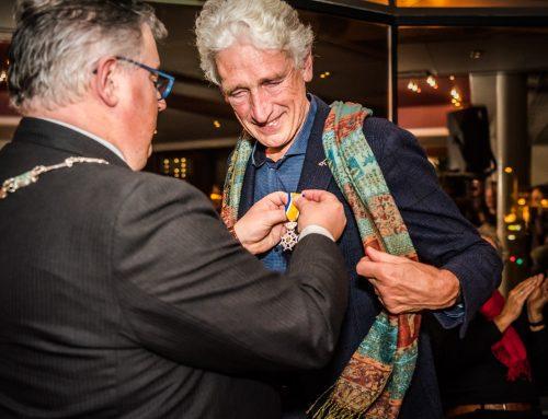 Ton van Lieshout receives knighthood of the Orde van Oranje-Nassau